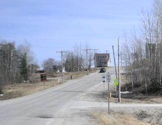 Nakina highway ending, Ontario highway11.ca