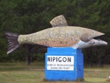 Big weird thing #2 - Nipigon's trout, on Highway 11