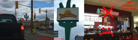 highway11.ca TACO TIME - Thunder Bay, ON, Logan, UT, Toronto, ON