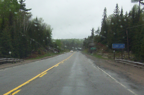 Tilden Lake, highway 11 ontario