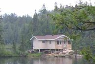 Temagami cottage, Highway 11