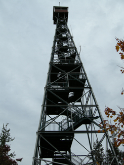Climb Temagami's restored fire tower, Highway 11