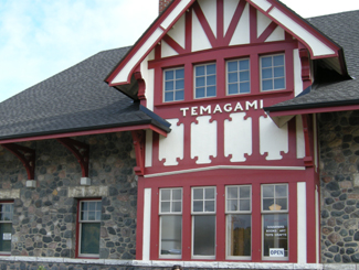 Temagami Train Station, Highway 11