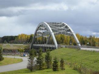 Aubrey Cosens Bridge, Latchford Ontario, Highway 11