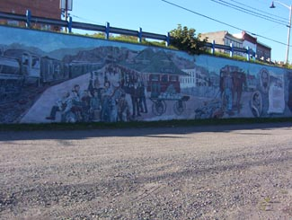 History of Cobalt Mural, Cobalt Highway 11