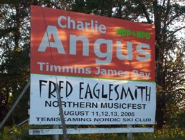 Fred's Northern Picnic, featuring MP Charlie Angus, Cobalt, ON