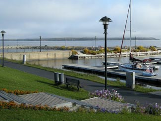 Haileybury on the shores of Lake Temiskaming