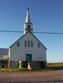 Church for sale, Thornloe, Ontario, Highway 11