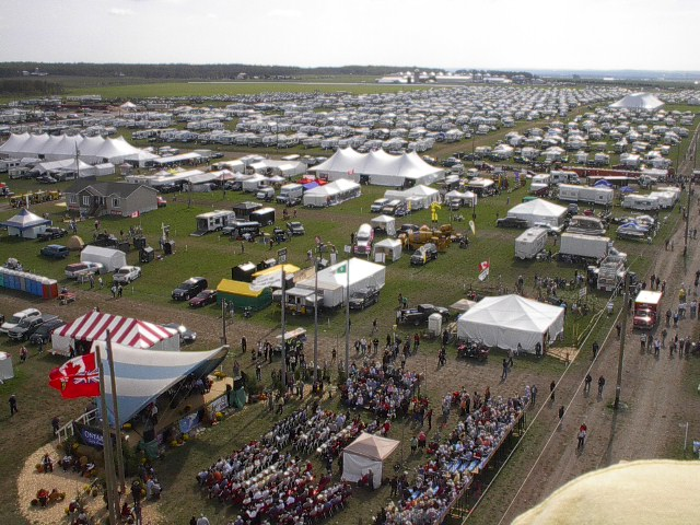 Earlton hosted the International Plowing Match in 2009