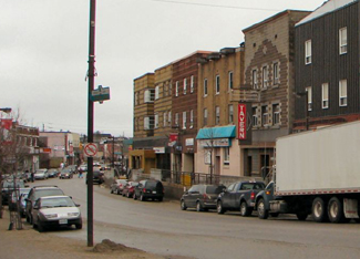 Downtown Kirkland Lake