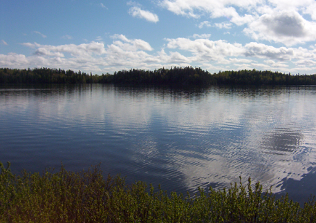 Gull Lake, near Kirkland Lake Ontario