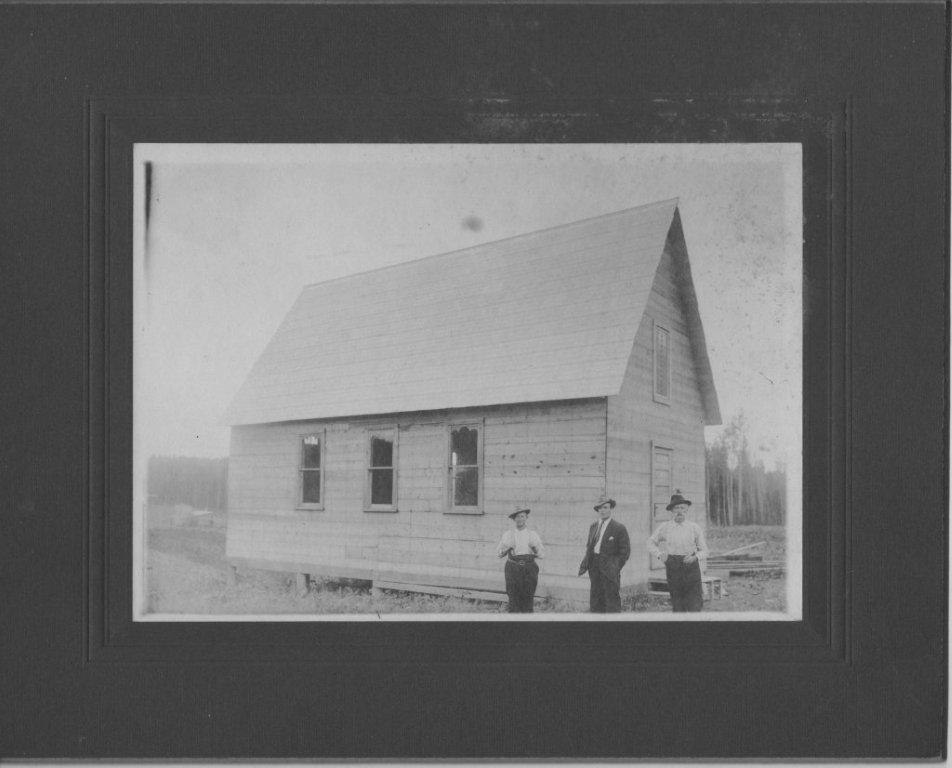 Early Krugerdorf church Highway 11 Ontario