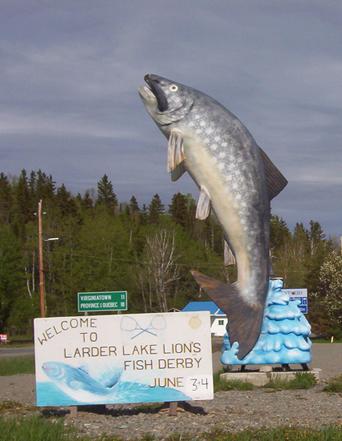 Larder Lake Ontario fish