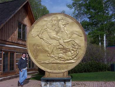 Virginiatown coin, Ontario