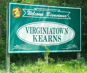 Virginiatown and Kearns, Ontario