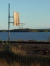 Basketball by the lake in Sesekinika, Ontario