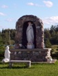 Ramore church shrine, Highway 11 Ontario