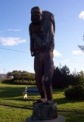 Statue in Matheson, Ontario