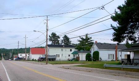 Trout Creek, Ontario, on Highway 11