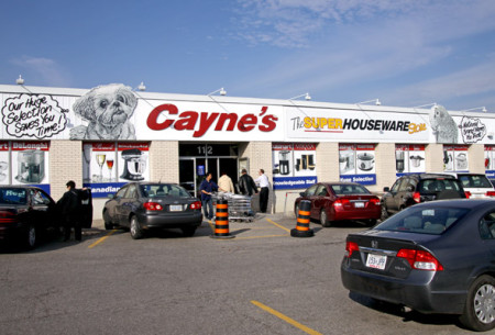 Cayne's, Thornhill, Ontario, Yonge Street, Highway 11