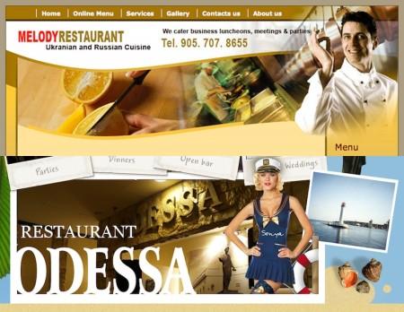 Thornhill, Odessa Restaurant, Restaurant Melody, Yonge Street, Highway 11