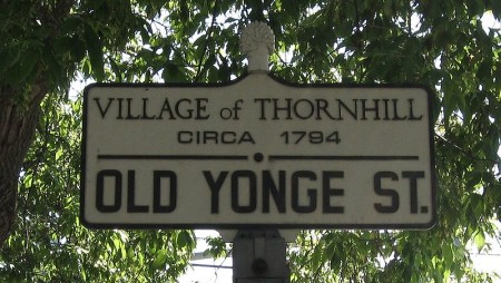 Thornhill, Ontario, Highway 11 Yonge Street highway11.ca