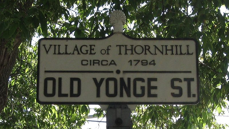 Thornhill Ontario Highway 11 Blog