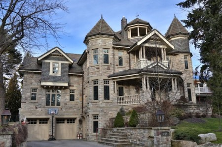 This is a house in York Mills on Old Toronto Road.  It's so expensive that they don't even list the price in the listing!