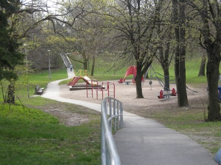 Park at Yonge and Lawrence